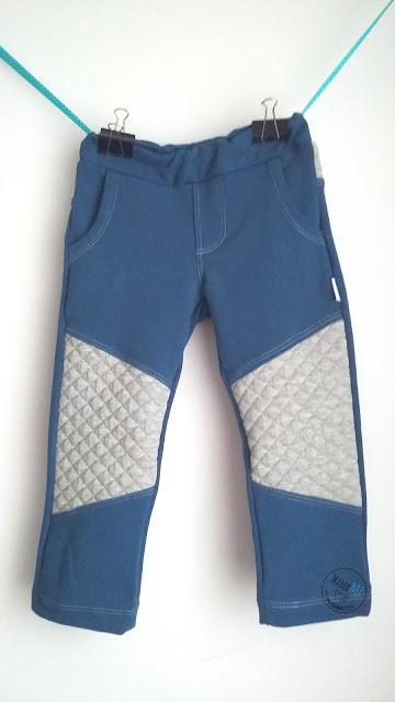 podwójna igła do dzianin czy warto, spodnie z wstawkami