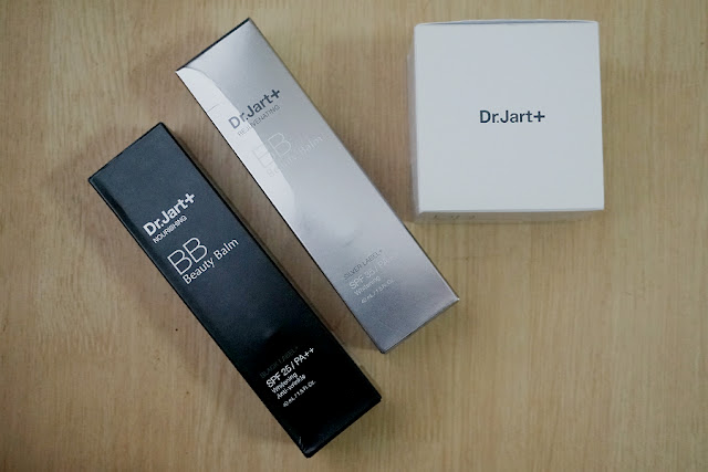 Dr. Jart+ Silver Label Rejuvenating BB, Black Label Nourishing BB, Bounce BB Moist