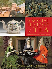Front cover of A Social History of Tea by Jane Pettigrew and Bruce Richardson