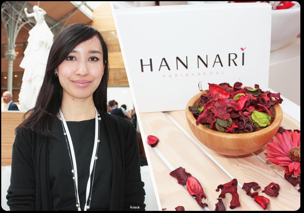 Agnès créatrice de la marque Han Nari