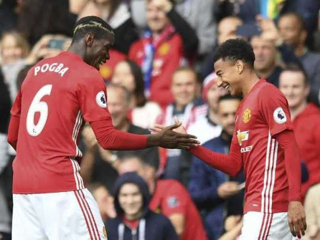 Manchester United came from behind to beat Middlesbrough 2-1