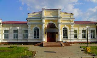Миргород. Колишній Будинок дворянського зібрання. 1909 р Центр естетичного виховання