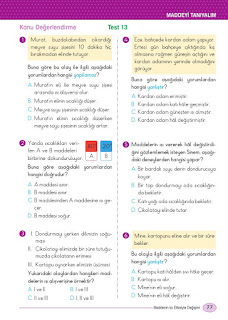5. Sınıf Din Kültürü Ders Kitabı Cevapları Dikey Sayfa 77