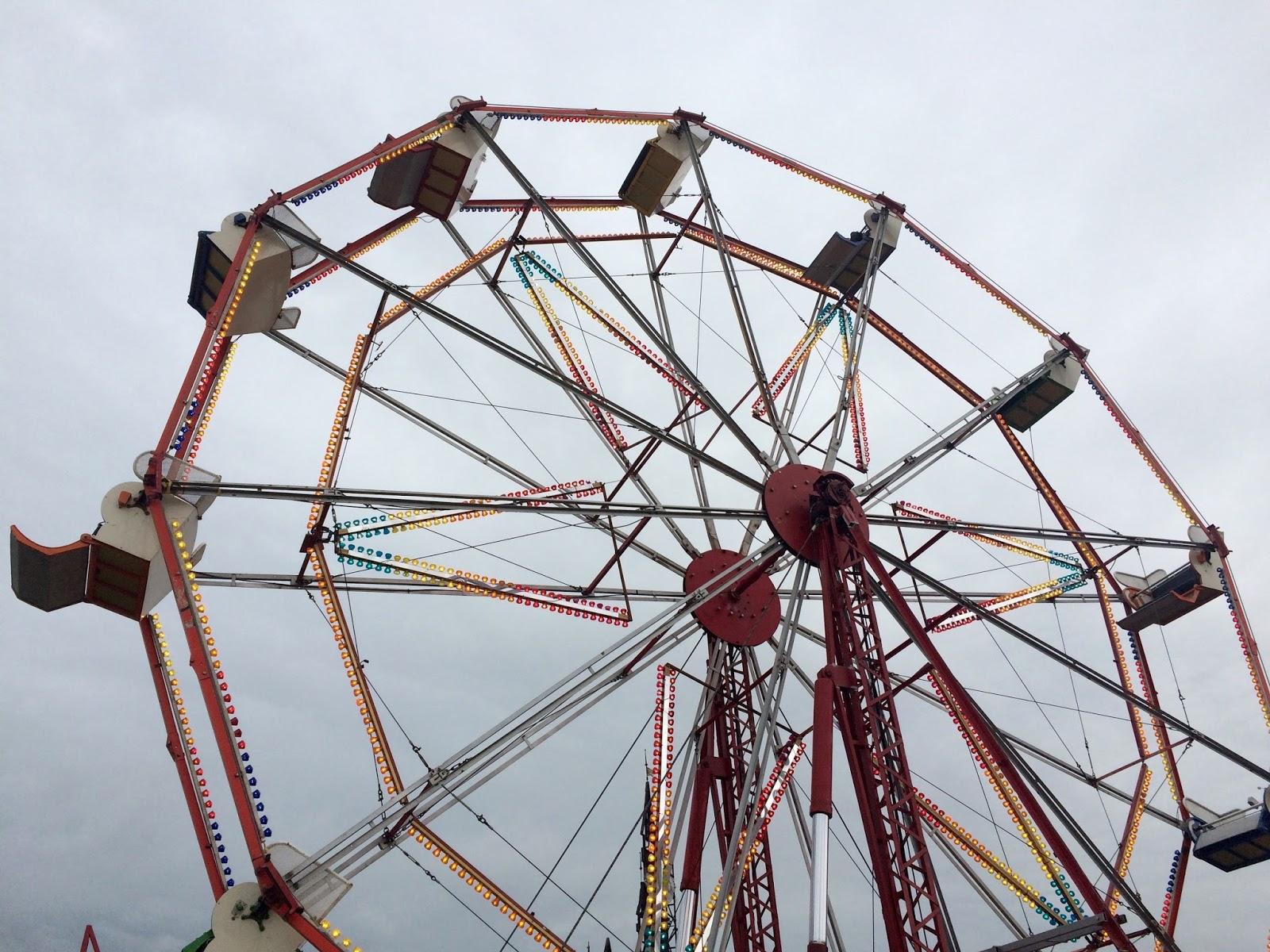 Baknsy Dismaland Ferris Wheel
