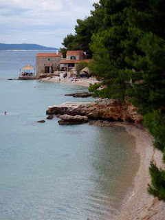 Village on Beach Brac Croatia