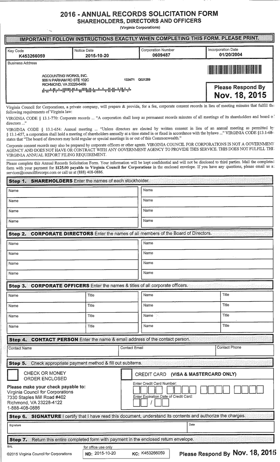 201511091125 Official Government Pport Application Form on