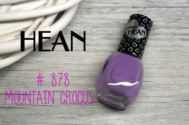 Hean  #878 mountain crocus, czyli wstydliwy fiolecik