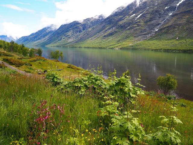 Jezero, Gjende, Norsko, Jotunheimen