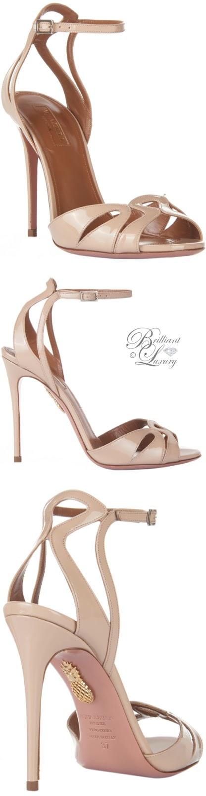 Brilliant Luxury ♦ Aquazzura Zola Sandals