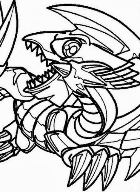 Desenhos Do Yu Gi Oh Para Imprimir E Colorir Desenhos Para