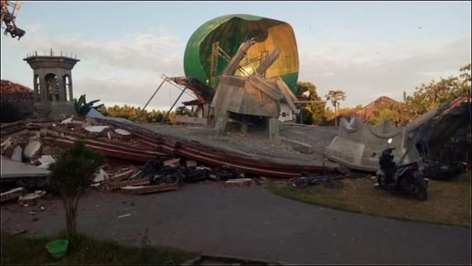 Gempa Menggunjang Lombok