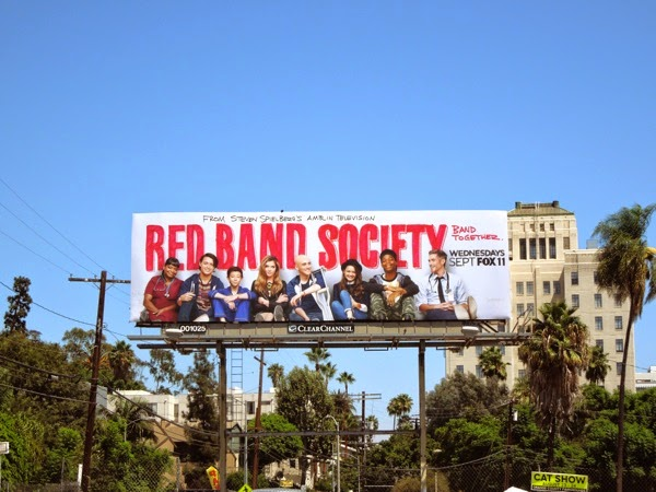 Red Band Society series premiere billboard