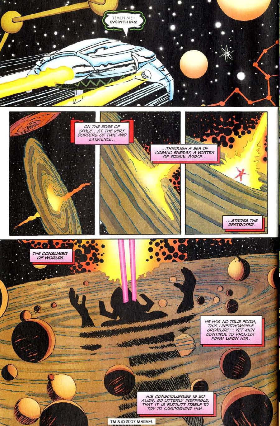 Read online Silver Surfer (1987) comic -  Issue #144 - 34