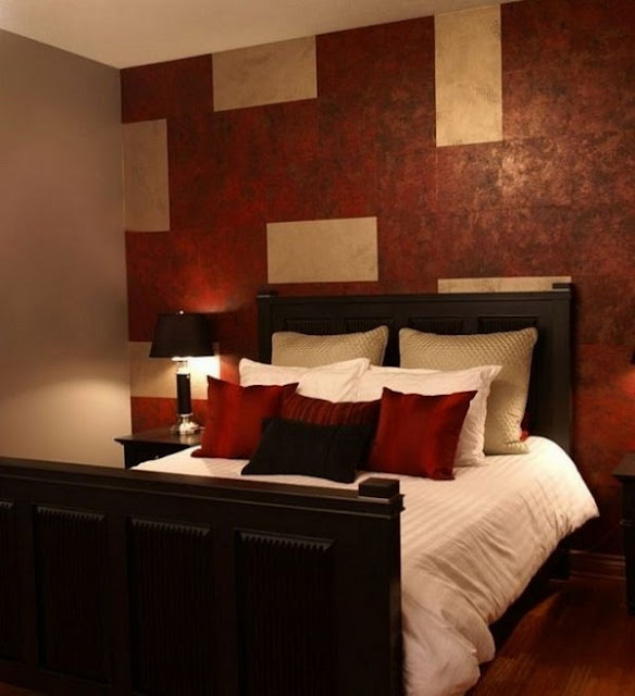 Red Bedroom Design A Striking Decorative