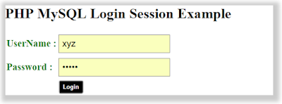 PHP MySQL Login With SESSION
