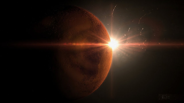 Suhu planet Mars