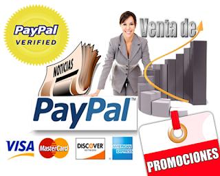 Venta Paypal USA 100% verificado