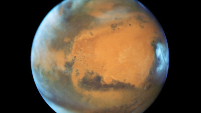 la imagen mas reciente de marte tomada por el telescopio Hubble