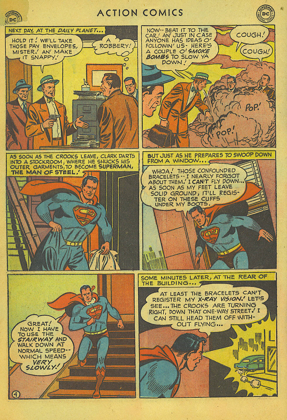 Read online Action Comics (1938) comic -  Issue #157 - 5