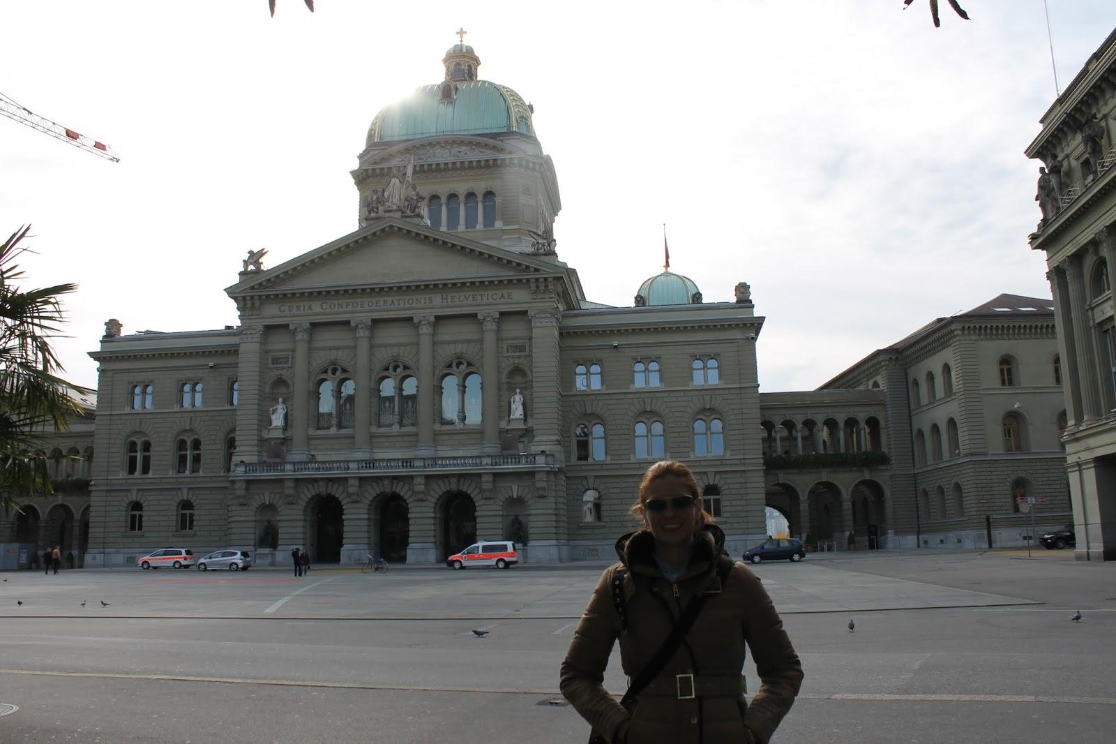 Palácio Federal da Suíça ou Bundeshaus