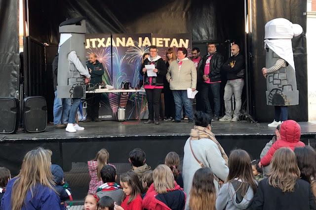 Pregón de las fiestas de Lutxana
