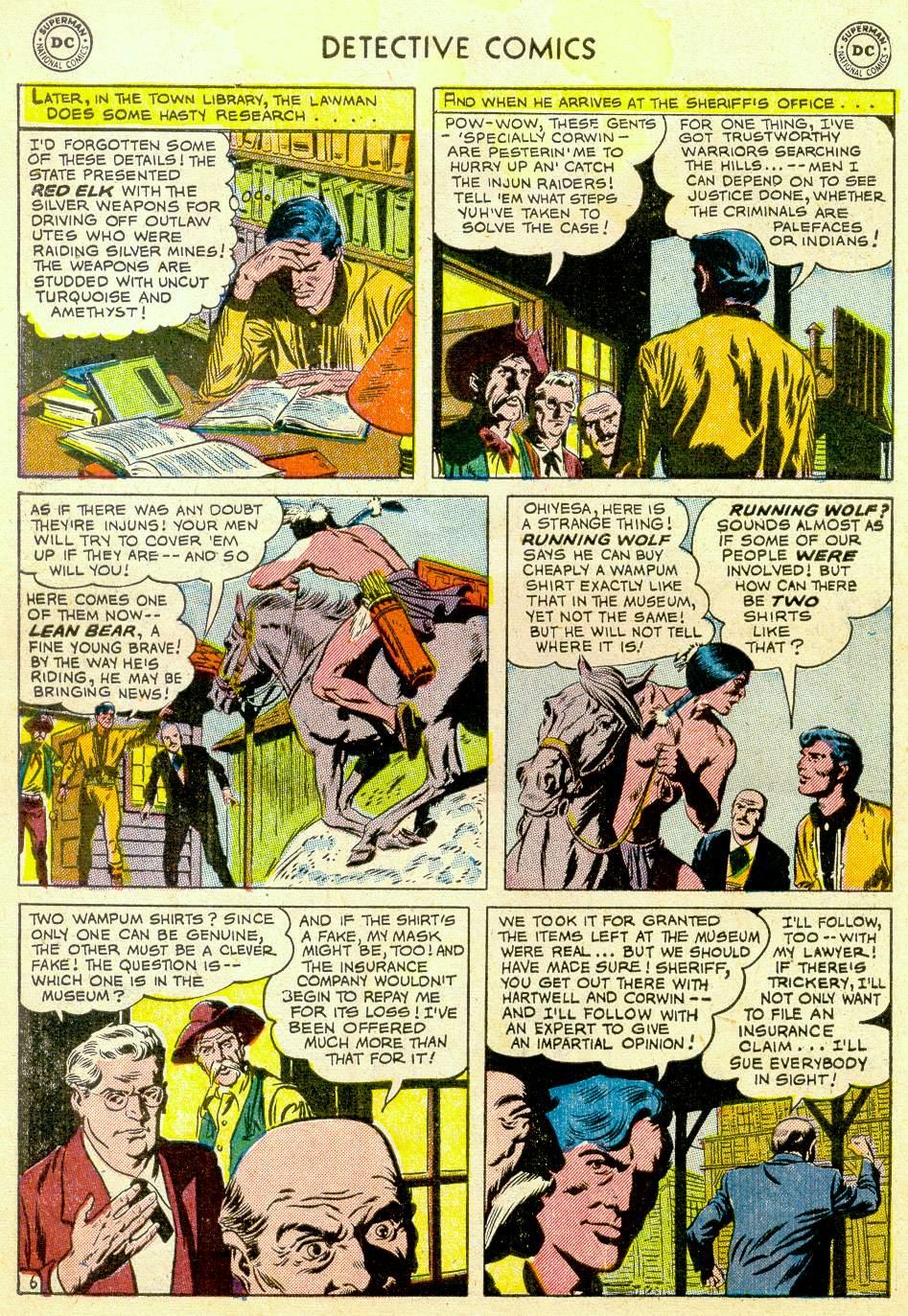 Read online Detective Comics (1937) comic -  Issue #184 - 40