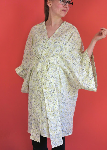 Seamwork Almada Robe via SEWN Sewing Blog