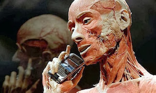 Human body - mobile phone