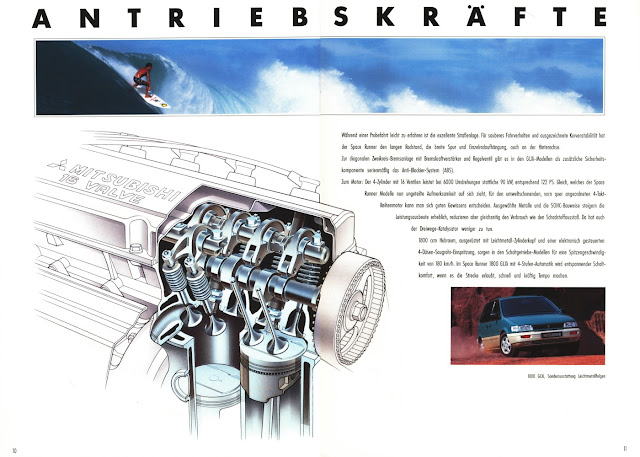 Mitsubishi Space Runner, napęd na cztery koła
