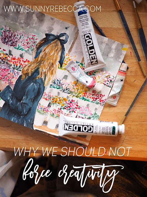 Why We Shouldn't Force Creativity