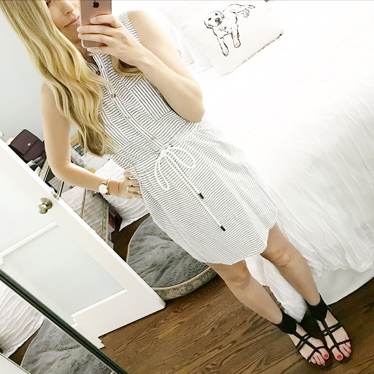 A Perfect Striped Summer Dress
