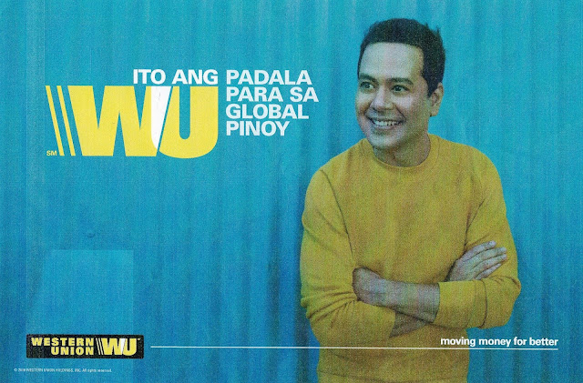 A Role for Real - John Lloyd Cruz as Western Union's Global Ambassador for Overseas Filipinos