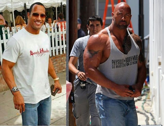 "Dwayne Johnson ""The Rock"" Insane 5 Years Body Transformation"