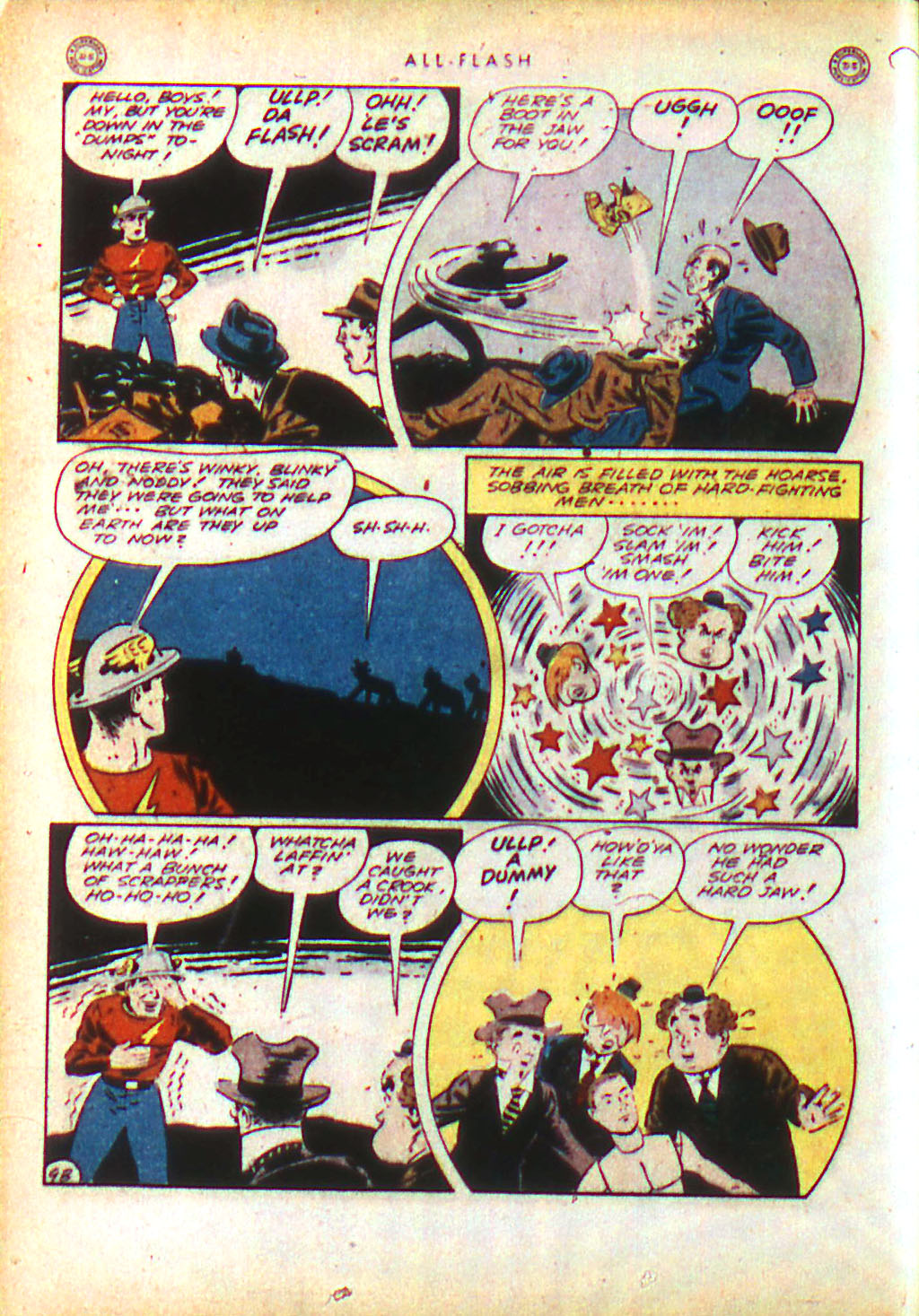 Read online All-Flash comic -  Issue #16 - 22