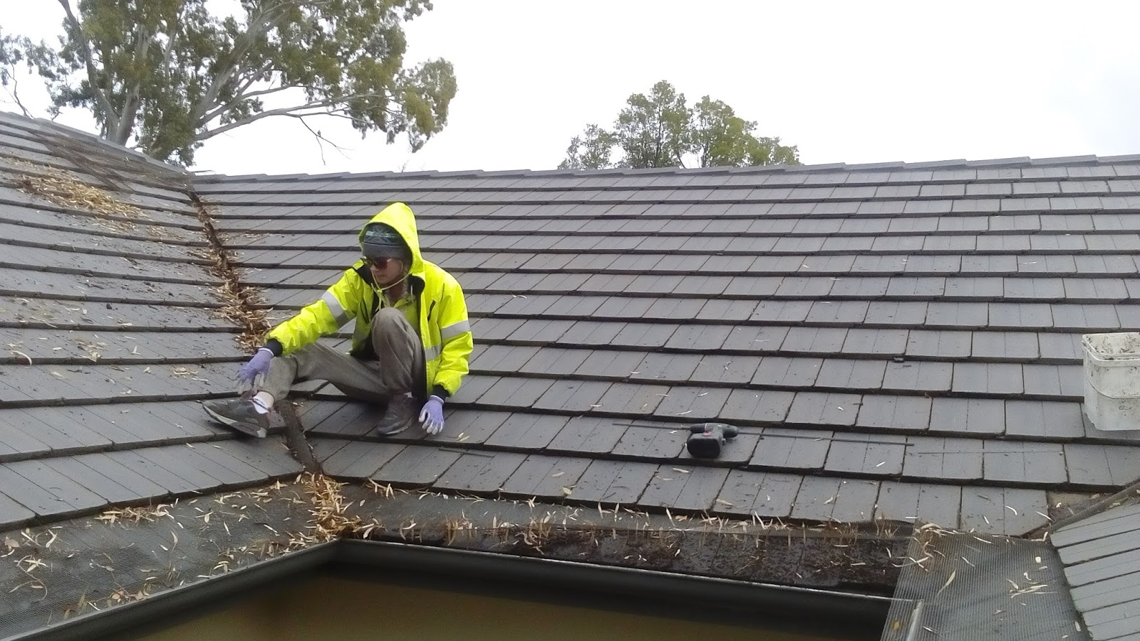 Roof Maintenance by Gutter Guard Installation