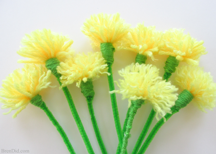 How To Make Easy Tassel Flowers Crazzy Craft