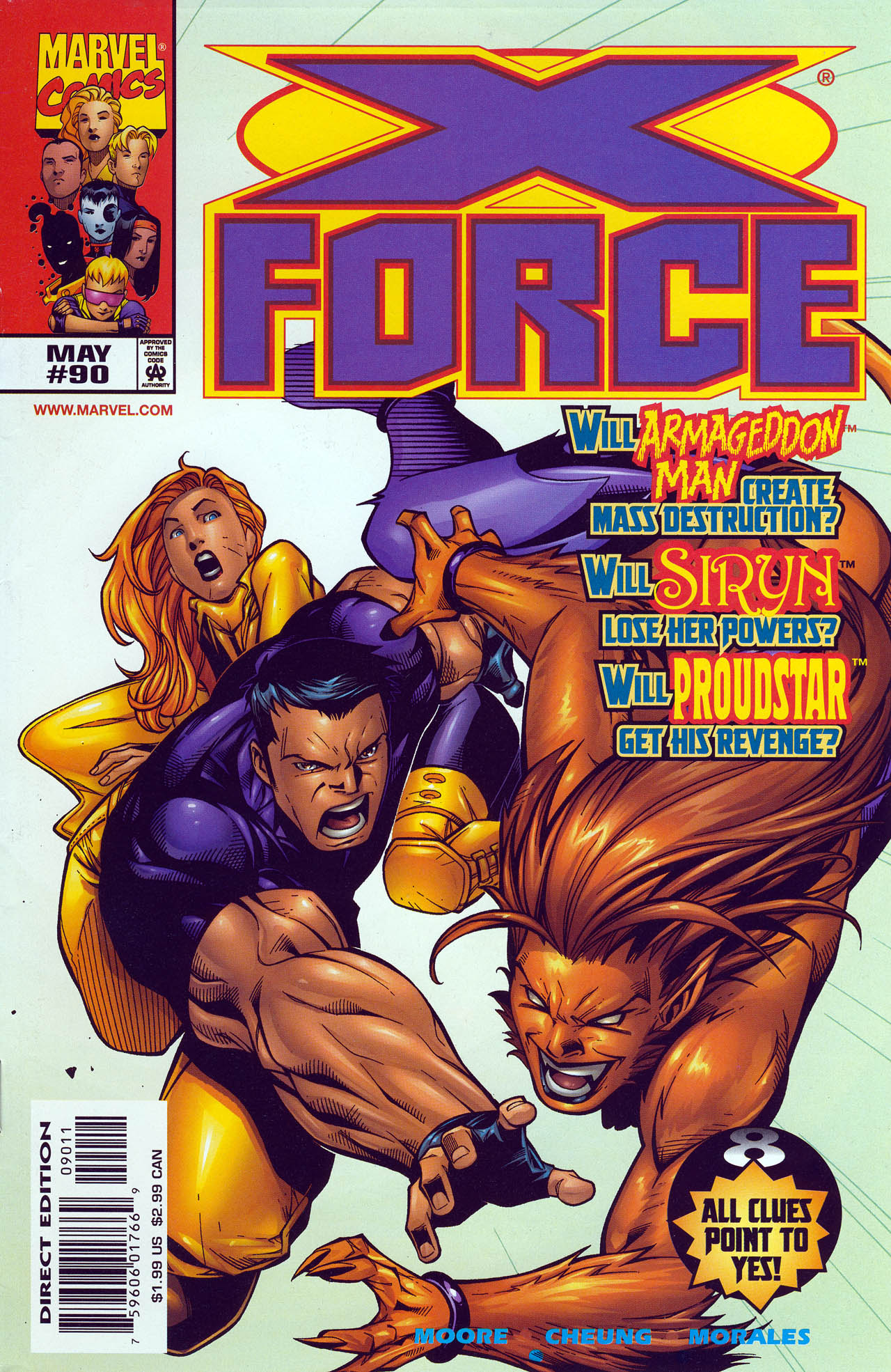 X-Force (1991) 90 Page 1