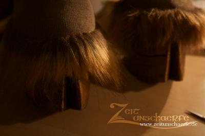 Steampunk-Faun | Hufe frisch frisiert | www.zeitunschaerfe.de