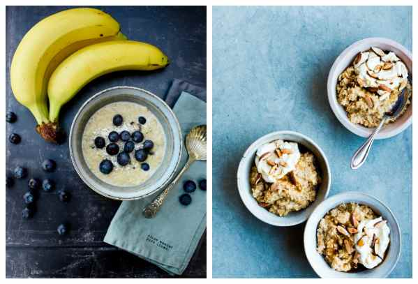 porridge and overnight oats