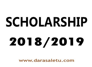 SCHOLARSHIP OPPORTUNITY TENABLE TO STUDY IN PAKISTAN ACADEMIC YEAR 2018/2019.