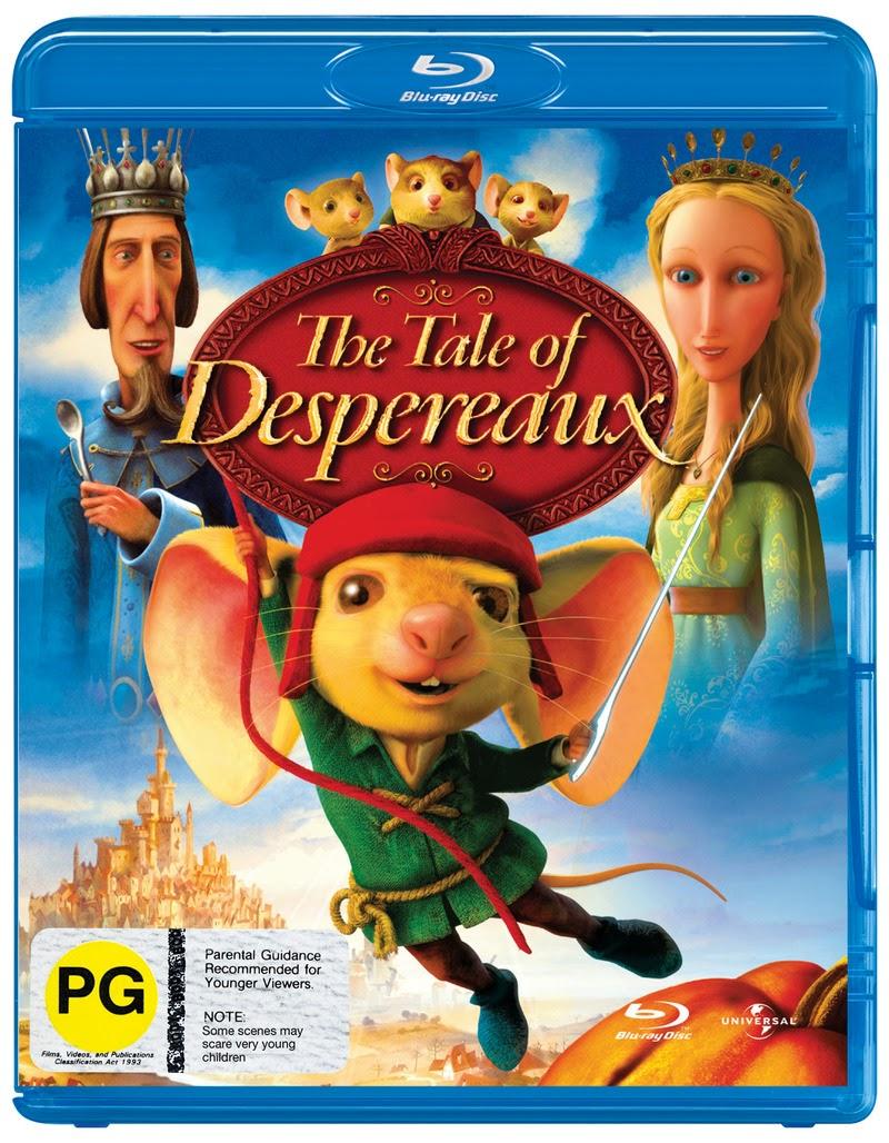 o filme o corajoso ratinho despereaux dublado