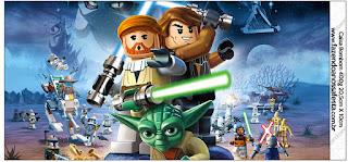 Etiquetas de Star Wars Lego para imprimir gratis.