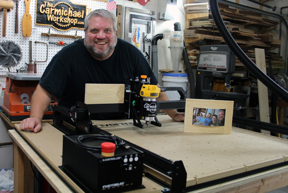 The Carmichael Workshop New 2017 Inventables X-Carve