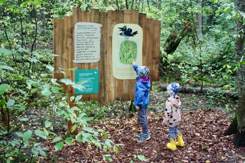 Ihan uusi lasten luontopolku Vantaalla