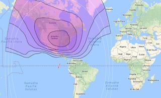 Satellite Beam Coverage Galaxy 3C/G-3C 95.0°W C Band