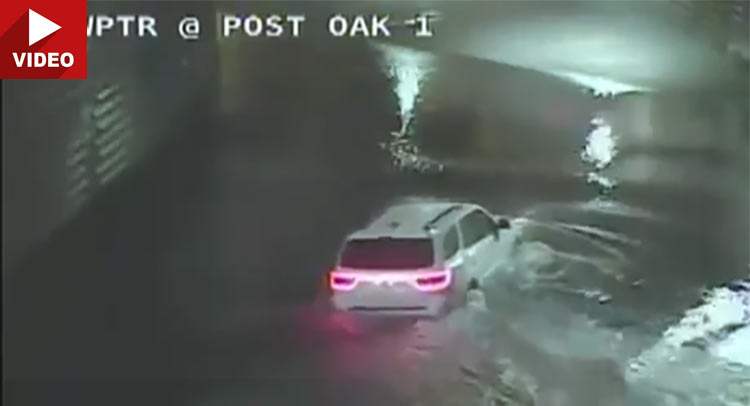 Chilling Video Shows Woman Drowning After Driving Dodge