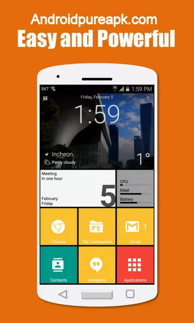 SquareHome 2 - Win 10 style Apk