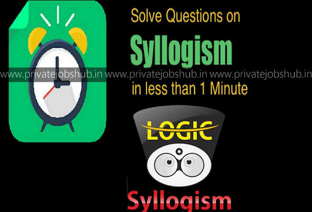 Syllogism Tricks