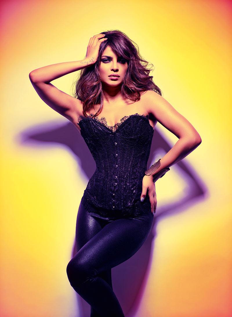 Priyanka Chopra Spicy Hot Poses for GQ Magazine 2017