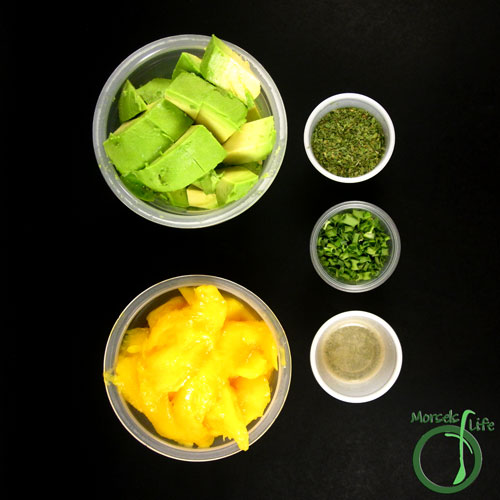 Morsels of Life - Mango Guacamole Step 1 - Gather all materials.